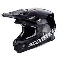 Scorpion Vx-21 Air Solid Shiny Black