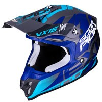 Off Road Helmet Scorpion Vx-16 Albion Blue
