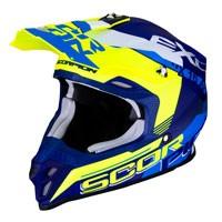 Casco Off Road Scorpion Vx-16 Arhus Giallo Fluo