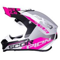 Casco Off Road Scorpion Vx-16 Arhus Rosa
