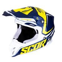 Off Road Helmet Scorpion Vx-16 Ernee Yellow