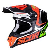 Casco Off Road Scorpion Vx-16 Ernee Rosso