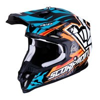 Off Road Helmet Scorpion Vx-16 Rock Bagoros