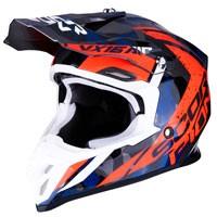 Off Road Helmet Scorpion Vx-16 Waka Red Blue