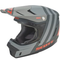 SCOTT 350 EVO Plus Dash ECE Casco negro naranja