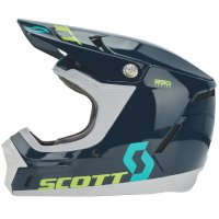 Casco SCOTT 350 EVO Plus Track ECE azul