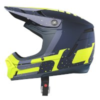 Casco SCOTT 350 EVO Plus Team ECE azul amarillo