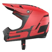 Casco SCOTT 350 EVO Plus Team ECE rojo negro