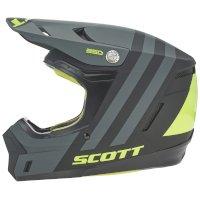 SCOTT 350 EVO Plus Dash ECE Casco negro amarillo