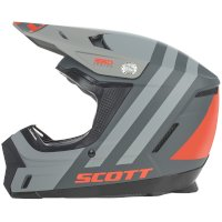 Casco SCOTT 350 EVO Kid negro naranja