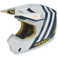 Casco SCOTT 350 EVO Kid azul amarillo