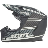 Casco SCOTT 350 EVO Kid Plus Retro ECE negro