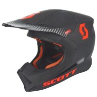 Casco SCOTT 550 Hatch ECE naranja negro
