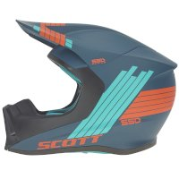 Casco SCOTT 550 Stripes ECE azul