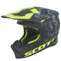 Casque Scott 550 Camo Ece Noir Jaune