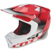Casco SCOTT 550 Noise ECE rojo
