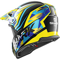 Casco Shark Varial Replica Tixier Blu Giallo