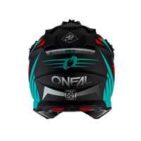 Casco O'neal 2 Series Rl Spyde 2.0 Azzurro Rosso
