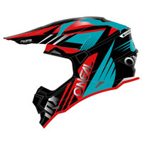 O\'neal 2 Series Rl Spyde 2.0 Helmet Light Blue Red