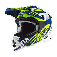 O\'neal 2 Series Rl Spyde 2.0 Helmet Yellow Blue