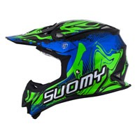 Suomy Mr Jump Graffiti Blue Green