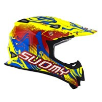 Suomy Mr Jump Graffiti Red Yellow