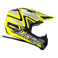 Suomy Rumble Snake Yellow