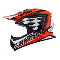 Suomy Rumble Strokes Red