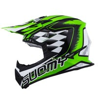 Suomy Rumble Strokes Green