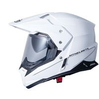 Mt Helmets Sinchrony Duo Sport Sv Solid Bianco