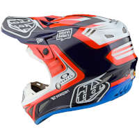 Casco Moto Cross Tld Se4 Carbon Flash Team