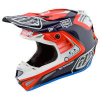 Off Road Helmet Troy Lee Designs Se4 Carbon Flash Team