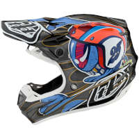 Casco Moto Cross Tld Se4 Carbon Eyeball