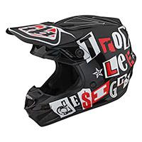Troy Lee Designs Gp Anarchy Kid Helmet Black Red Kid