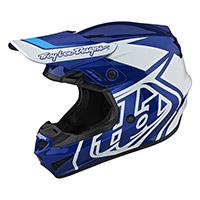 Troy Lee Designs Gp Overload Youth Helmet Blue Kid