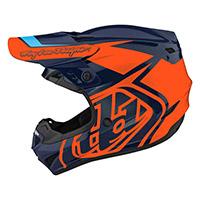 Troy Lee Designs Gp Overload Youth Helmet Orange Kid