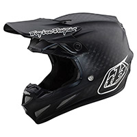 Casco Troy Lee Designs SE4 Carbon Midnight negro