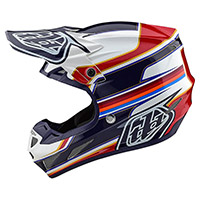 Casco Troy Lee Designs Se4 Composite Speed Bianco