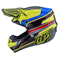 Casco Troy Lee Designs SE4 Composite Speed amarillo
