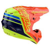 Troy Lee Designs Se4 Composite Silhouette fluo