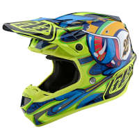 Off Road Helmet Troy Lee Designs Se4 Composite Eyeball