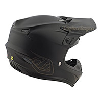 Casco Troy Lee Designs SE4 Polyacrylite Mono negro