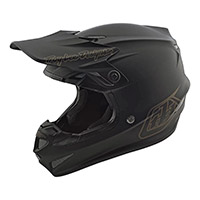 Troy Lee Designs Se4 Polyacrylite Mono Helmet Black