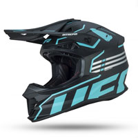 Ufo Intrepid Offroad Helmet Light Blue