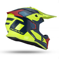 Ufo Intrepid Offroad Helmet Yellow