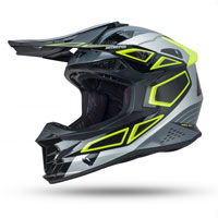 Ufo Intrepid Offroad Helmet Grey Yellow