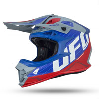 Ufo Intrepid Offroad Helmet Grey Red