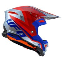 Ufo Offroad Helmet Diamond Red Blue