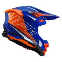 Ufo Casque Off Road Diamond Bleu Orange
