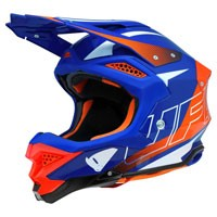 Ufo Offroad Helmet Diamond Blue Orange